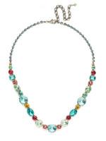 Sorrelli Vivid Horizons Crystal Necklace~ NCP38ASVH