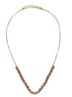 Sorrelli Radiant Sunrise Crystal Necklace~ NDS38AGRS
