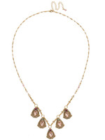 Sorrelli Radiant Sunrise Crystal Necklace~ NDS4AGRS
