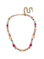 Sorrelli Radiant Sunrise Crystal Necklace~ NCP36AGRS