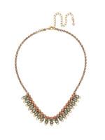 Sorrelli Radiant Sunrise Crystal Necklace~ NDS33AGRS