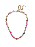 Sorrelli Radiant Sunrise Crystal Necklace~ NDR16AGRS