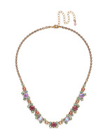 Sorrelli Radiant Sunrise Crystal Necklace~ NDK11AGRS
