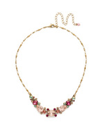 Sorrelli Radiant Sunrise Crystal Necklace~ NDS49AGRS