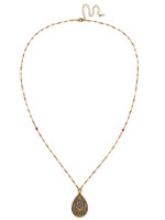 Sorrelli Radiant Sunrise Crystal Necklace~ NDS5AGRS