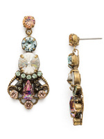 Sorrelli Washed Waterfront Crystal Earrings~ EDS21AGWW