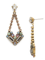 Sorrelli Washed Waterfront Crystal Earrings~ EDS17AGWW