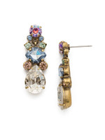 Sorrelli Washed Waterfront Crystal Earrings~ EDS36AGWW