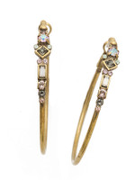 Sorrelli Washed Waterfront Crystal Earrings~ EDS25AGWW