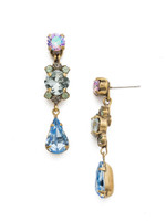 Sorrelli Washed Waterfront Crystal Earrings~ EDS1AGWW