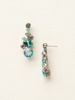 Sorrelli Sea Glass Crystal Earrings~ECF6ASSGL