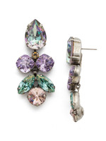 **SPECIAL ORDER**SORRELLI LILAC PASTEL CRYSTAL EARRINGS~ECR1ASLPA