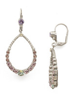 **SPECIAL ORDER**SORRELLI LILAC PASTEL CRYSTAL EARRINGS~EDN83ASLPA