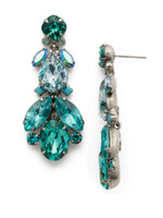 **SPECIAL ORDER**SORRELLI SWEET MINT CRYSTAL EARRINGS~EDU40ASSMN