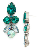 **SPECIAL ORDER**SORRELLI SWEET MINT CRYSTAL EARRINGS~ECR1ASSMN