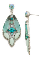**SPECIAL ORDER**SORRELLI SWEET MINT CRYSTAL EARRINGS~EDN97ASSMN