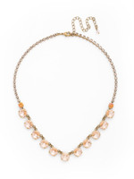 **SPECIAL ORDER**SORRELLI APRICOT AGATE CRYSTAL NECKLACE~NDK6AGAP