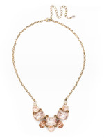 **SPECIAL ORDER**SORRELLI APRICOT AGATE CRYSTAL NECKLACE~NDK8AGAP
