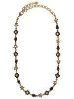 Sorrelli Evening Moon Crystal Necklace NBP90AGEM