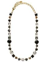 Sorrelli Evening Moon Crystal Necklace NBP3AGEM