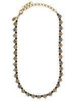 Sorrelli Evening Moon Crystal Necklace ~NBP117AGEM