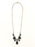 **SPECIAL ORDER**DRESS BLUES CRYSTAL NECKLACE BY SORRELLI~NCR77AGDBL