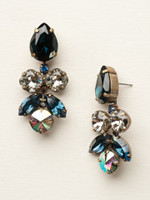 **SPECIAL ORDER**DRESS BLUES CRYSTAL EARRINGS BY SORRELLI~ECR1AGDBL
