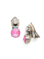 **SPECIAL ORDER**PINK MUTINY CRYSTAL EARRINGS BY SORRELLI~ECQ4CASPMU