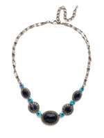 **SPECIAL ORDER**BLUE SUEDE NECKLACE BY SORRELLI~NDW70ASBSD