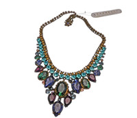 **SPECIAL ORDER**Jewel Tone Crystal Necklace by Sorrelli~NDQ3AGJT~