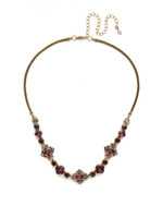 **SPECIAL ORDER**ROYAL PLUM NECKLACE BY SORRELLI~NDX4AGROP