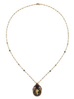 **SPECIAL ORDER**ROYAL PLUM NECKLACE BY SORRELLI~NDX13AGROP