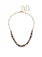 **SPECIAL ORDER**ROYAL PLUM NECKLACE BY SORRELLI~NDX14AGROP