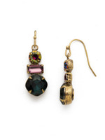 *SPECIAL ORDER**ROYAL PLUM EARRING BY SORRELLI~EDS32AGROP