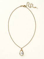 **SPECIAL ORDER**  NEUTRAL TERRITORY CRYSTAL NECKLACE BY SORRELLI~NCM19AGNT