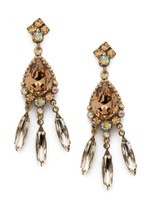 **SPECIAL ORDER** NEUTRAL TERRITORY CRYSTAL EARRINGS BY SORRELLI~EDQ34AGNT
