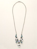 SEASIDE CRYSTAL NECKLACE  BY SORRELLI~NCR77ASSEA