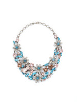**SPECIAL ORDER**  Sorrelli Sky Blue Peach Crystal  Necklace~ NBT56ASSKY