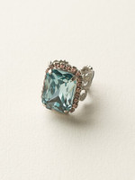 **SPECIAL ORDER**  Sorrelli Sky Blue Peach Crystal  Ring~ RCF9ASSKY