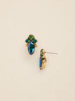 Sorrelli Wild Fern Crystal Earrings~EDE47AGWFN