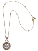 Sorrelli Lollipop Crystal Necklace~NBT20AGLP