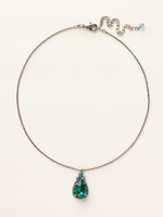 Sorrelli Ocean Crystal Necklace NCM19ASOC