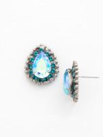 **SPECIAL ORDER**Ocean Crystal Earrings~ ECQ15ASOC