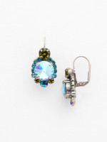 **SPECIAL ORDER**Ocean Crystal Earrings~ ECQ27ASOC
