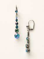 **SPECIAL ORDER**Ocean Crystal Earrings~ ECQ14ASOC
