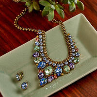 Sorrelli Bohemian  Bright  Crystal Necklace~NDQ3AGBHB