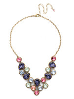 Sorrelli Bohemian  Bright  Crystal Necklace~NEA43AGBHB