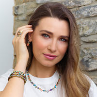 Sorrelli Bohemian Bright  Crystal Necklace~NAQ3AGBHB