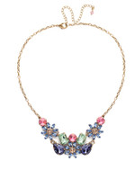 Sorrelli Bohemian Bright Crystal Necklace~NEA46AGBHB
