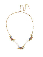 Sorrelli Bohemian Bright Crystal Necklace~NEC5AGBHB